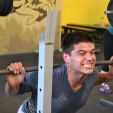 miguel back squats